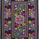 Uzbek Velour Machine Embroidery Suzani  From Thashkent / Uzbekistan 130