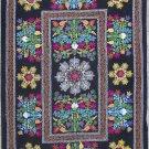Uzbek Velour Machine Embroidery Suzani  From Thashkent / Uzbekistan 129