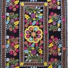Uzbek Velour Machine Embroidery Suzani  From Thashkent / Uzbekistan 127