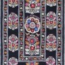 Uzbek Velour Machine Embroidery Suzani  From Thashkent / Uzbekistan 126
