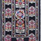 Uzbek Velour Machine Embroidery Suzani  From Thashkent / Uzbekistan 125