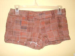 LADIES FASHION SEXY SHORTS COLOR COFFEE BEAN SIZE 5