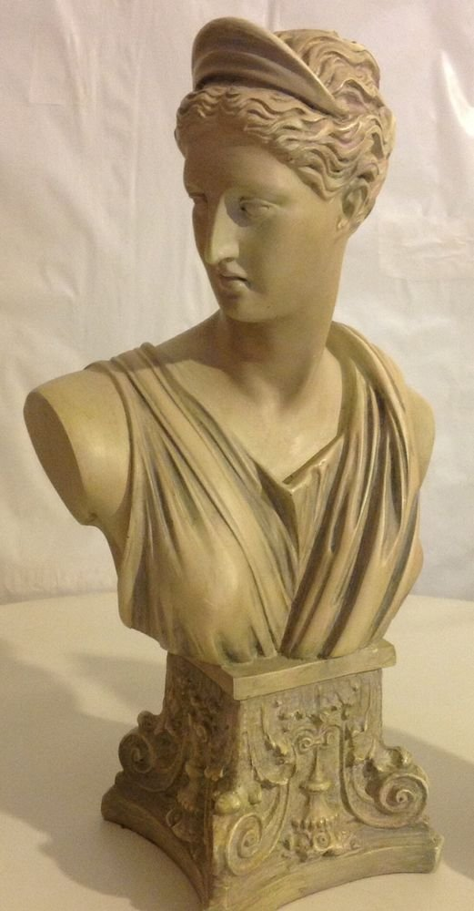DIANA PANTHEON BUST SCULPTURE