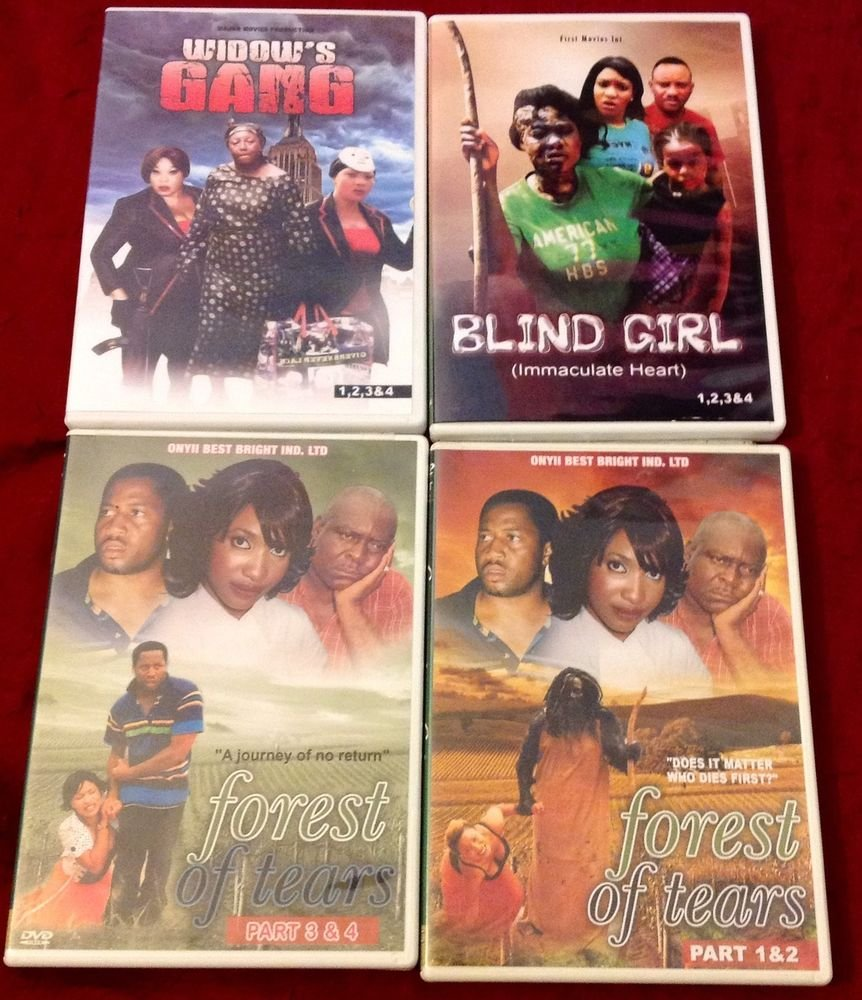 AFRICAN/GHANA MOVIE 4SET/ DRAMA