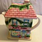 GIFT SHOP HOUSE TEAPOT