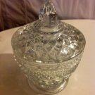 Cut Crystal Sugar Bowl With Lid