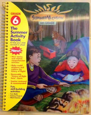 Summer Vacation 6 Grade Workbook (2004, Paperback) /Entertainment