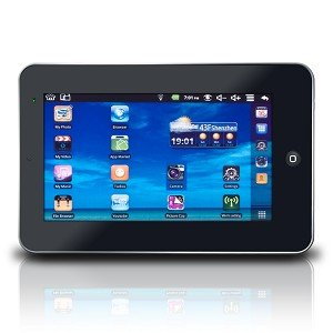 """Maxwest TAB-70F 800MHz 2GB 7"""" Touchscreen Tablet Android 2.2 w/Webcam"""