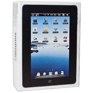 Touchscreen Tablet Android 1.6 w/Camera (Black)