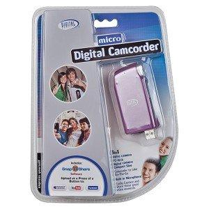 Pocket Video Digital Camera/Camcorder/PC Camera w/16MB Memory (Pink)