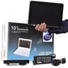 """1.6GHz 1GB 160GB 10"""" Netbook Linux w/Webcam & Bluetooth (Black)"""