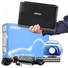 "MSI Wind L1350D-1672US Atom N455 1.66GHz 1GB 160GB 10"" LED-Backlit Netbook"