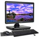 "All-in-One Atom N270 1.6GHz 1GB 160GB DVD±RW 18.4"" LCD Vista Home Basic w/Webcam"