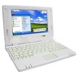 NEW 7 INCH MINI NETBOOK WHITE Mini Netbook 2GB HD WIFI,mini laptop WHITE