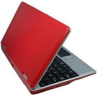 NEW 7 INCH MINI NETBOOK RED Mini Netbook 2GB HD WIFI,mini laptop RED