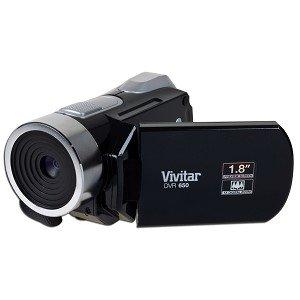 Vivitar DVR 650 5.1MP SD/SDHC Digital Camera/Camcorder w/4x Digital Zoom