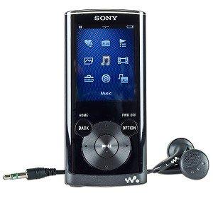 "Sony Walkman E-Series NWZ-E354 8GB USB 2.0 MP3 Digital Music/Video FM Player w/2.0"" LCD (Black)"