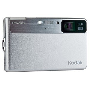 Kodak EasyShare M590 14MP 5x Optical/5x Digital Zoom HD Camera (Silver) - One Touch Sharing!