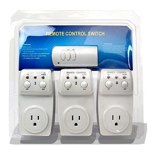 Remote Controlled Switch Socket - 3-Pack
