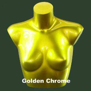 Golden Chrome Bra Form