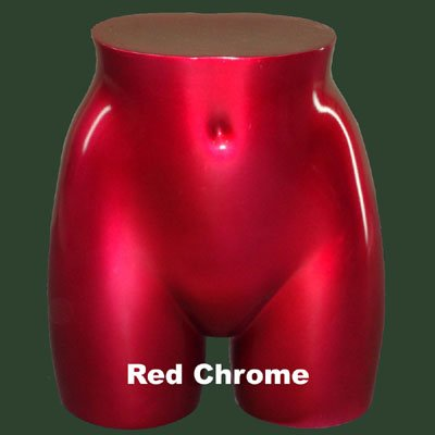 Red Chrome Hip Form