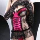 Wholesale bustier set only us$95 for 0.5dozen and shipping #7031