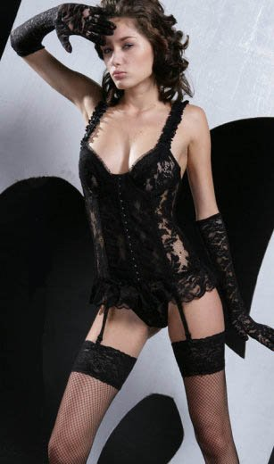 Wholesale bustier set only us$78.8 for 0.5dozen and shipping #7022