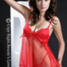 Wholesale hot babydoll only us$43.2  for 0.5dozen and shipping #2047(red)