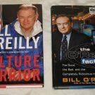 Bill O'Reilly's Culture Warrior &The O'Reilly Factor HB w cover