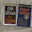 4 Sets of Audio Books John Grisham John Jakes Robert Ludlum