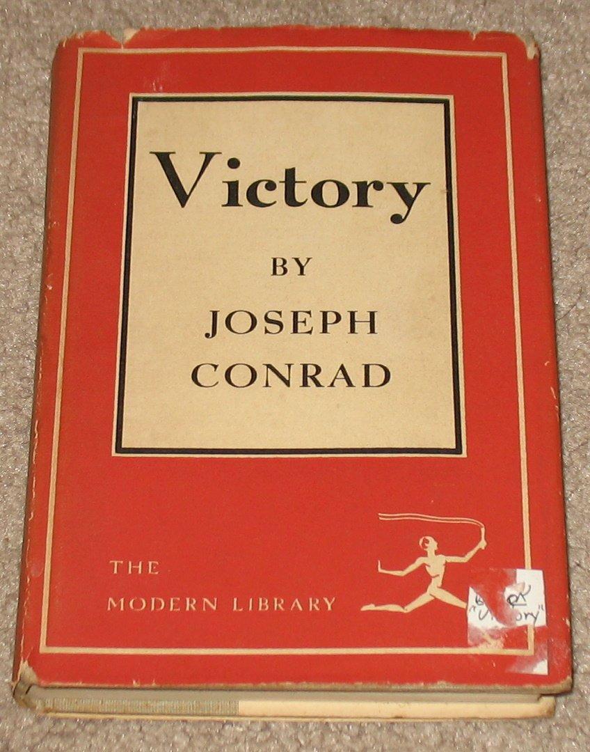Victory Hardback Book by Joseph Conrad 1921