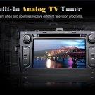 "7""HD Digital Touch Screen 2-Din Car DVD Player Toyota Corolla GPS-Steering Wheel Control DVB-T"