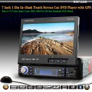 "7"" 1 Din In Dash Car DVD Player GPS, all-in-one,Universal Car DVD player, 722G"