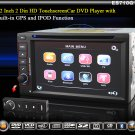 6.2 Inch 2 Din HD Car DVD Player with Built-in GPS IPOD Function-710