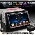 "7"" TFT LCD Touch Screen Universal Car DVD Player with GPS DVB Bluetooth iPod-807D"