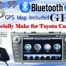 "8"" LCD iPod GPS Navigation DVD Player For Toyota Camry"