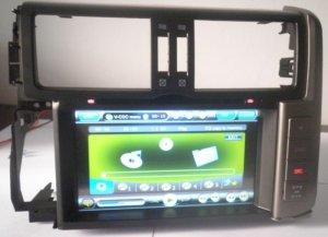 Toyota Prado DVD GPS Navigation, Bluetooth, iPod 2010-2011