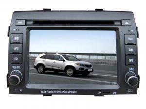 KIA sorento car dvd player gps radio ipod usb 800*480