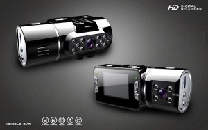 HD 720P NEW Dual Lens Dashboard Car vehicle Camera Video Recorder DVR CAM