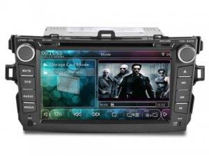 New TOYOTA COROLLA 2 din CAR PC With 3G + WIFI + DVB-T + GPS