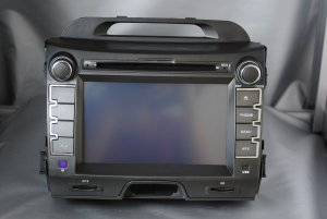 KIA SPORTAGE car dvd player 7'' touch screen gps ipod