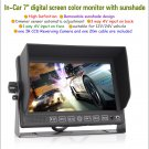 "7"" color LCD Monitor CCD Reversing Camera Car Rear View Kit For Bus Long Truck"
