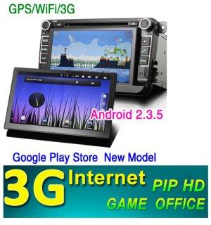 VW GOLF5 6 PASSAT TIGUAN TOURAN Tiguan Sharan POLO SKODA DVD GPS Bluetooth NAVI 3G internet android