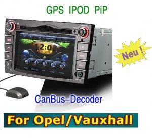 Car DVD GPS For Opel Vauxhall Vectra Zafira Corsa Astra Meriva