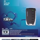 Auto Remote PKE Keyless Entry Car Aarm System +Button Start +Backup RFID system
