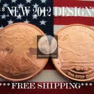 2012 1 OZ .999 COPPER ROUND COIN BAR WALKING LIBERTY AMERICAN EAGLE ♦NEW SILVER?