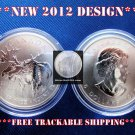 NEW 2012 DESIGN ♦ 1 Oz OUNCE .999 SILVER CANADA MOOSE COIN GEM BU W/ CAPSULE ♦♦