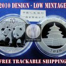 2010 1 OZ OUNCE .999 SILVER BULLION CHINESE PANDA COIN GEM BU UNC ♦ IN STOCK ♦