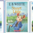 3 E.B. White Book Lot -Charlotte's Web, Stuart Little,Trumpet of the Swan