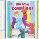 3 Counting/Number Children's Book Lot - Free Shipping